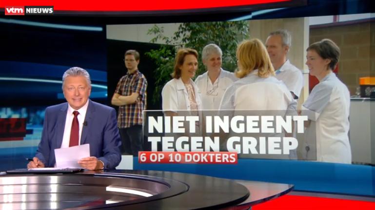 Vaccinaties op VTM-nieuws