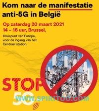 manifestatie Brussel 20 maart 2021